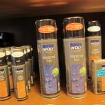ウォーリープロテクト3×3防水スプレー¥1,620  非常に細かい粒子の防水スプレーで防水性がありながら通気性を損なわない優れものです。